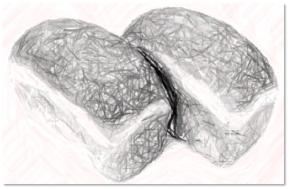 bread lovaes sketch
